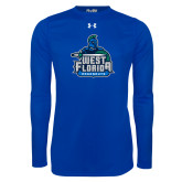 Under Armour Royal Long Sleeve Tech Tee-West Florida Argonauts