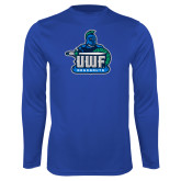Syntrel Performance Royal Longsleeve Shirt-UWF Argonauts