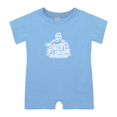 Light Blue Infant Romper-West Florida Argonauts