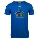 Adidas Climalite Royal Ultimate Performance Tee-UWF Argonauts