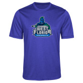Performance Royal Heather Contender Tee-West Florida Argonauts
