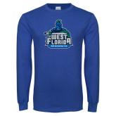 Royal Long Sleeve T Shirt-West Florida Argonauts