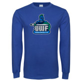 Royal Long Sleeve T Shirt-UWF Argonauts