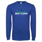Royal Long Sleeve T Shirt-Football Design