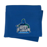 Royal Sweatshirt Blanket-West Florida Argonauts