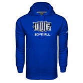 Under Armour Royal Performance Sweats Team Hoodie-Softball