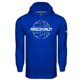 Under Armour Royal Performance Sweats Team Hoodie-Basketball Design