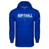 Under Armour Royal Performance Sweats Team Hoodie-Softball Design