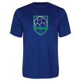 Performance Royal Tee-Soccer Design