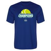 Syntrel Performance Royal Tee-NCAA Division II National Champions 2017 Mens Tennis