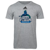 Adidas Sport Grey Logo T Shirt-West Florida Argonauts