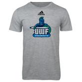 Adidas Sport Grey Logo T Shirt-UWF Argonauts