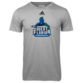 Adidas Climalite Sport Grey Ultimate Performance Tee-West Florida Argonauts
