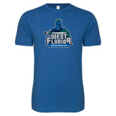 Next Level SoftStyle Royal T Shirt-West Florida Argonauts