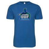 Next Level SoftStyle Royal T Shirt-UWF Argonauts