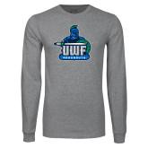 Grey Long Sleeve T Shirt-UWF Argonauts
