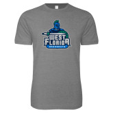 Next Level SoftStyle Heather Grey T Shirt-West Florida Argonauts