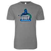 Next Level SoftStyle Heather Grey T Shirt-UWF Argonauts