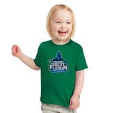 Toddler Kelly Green T Shirt-West Florida Argonauts