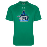 Under Armour Kelly Green Tech Tee-UWF Argonauts
