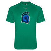 Under Armour Kelly Green Tech Tee-Argonaut Head