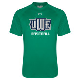 Under Armour Kelly Green Tech Tee-Baseball