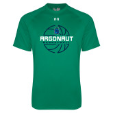 Under Armour Kelly Green Tech Tee-Basketball Design