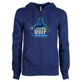 ENZA Ladies Royal Fleece Full Zip Hoodie-UWF Argonauts