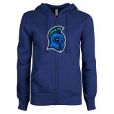ENZA Ladies Royal Fleece Full Zip Hoodie-Argonaut Head