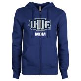ENZA Ladies Royal Fleece Full Zip Hoodie-Mom