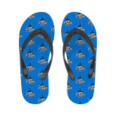 Ladies Full Color Flip Flops-West Florida Argonauts