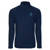 Sport Wick Stretch Navy 1/2 Zip Pullover-Argonaut Head