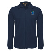 Fleece Full Zip Navy Jacket-Argonaut Head