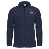 Columbia Full Zip Navy Fleece Jacket-West Florida Argonauts