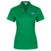 Ladies Kelly Green Performance Fine Jacquard Polo-West Florida Argonauts