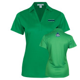 Ladies Kelly Green Performance Fine Jacquard Polo-NCAA Division II National Champions 2017 Mens Tennis