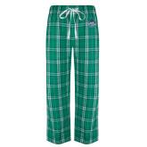 Green/White Flannel Pajama Pant-West Florida Argonauts