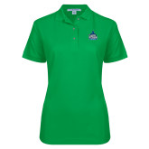 Ladies Easycare Kelly Green Pique Polo-West Florida Argonauts