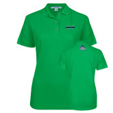 Ladies Easycare Kelly Green Pique Polo-NCAA Division II National Champions 2017 Mens Tennis