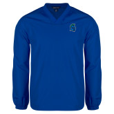 V Neck Royal Raglan Windshirt-Argonaut Head