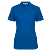 Ladies Easycare Royal Pique Polo-Argonaut Head