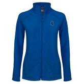 Ladies Fleece Full Zip Royal Jacket-Argonaut Head