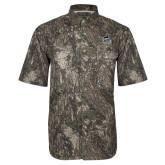 Camo Short Sleeve Performance Fishing Shirt-West Florida Argonauts