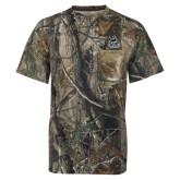 Realtree Camo T Shirt w/Pocket-West Florida Argonauts