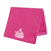 Pink Beach Towel-West Florida Argonauts