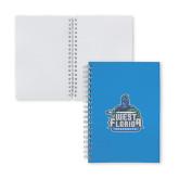 Clear 7 x 10 Spiral Journal Notebook-West Florida Argonauts