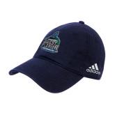 Adidas Navy Slouch Unstructured Low Profile Hat-West Florida Argonauts