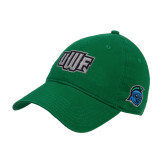 Kelly Green Twill Unstructured Low Profile Hat-UWF