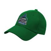 Kelly Green Heavyweight Twill Pro Style Hat-West Florida Argonauts