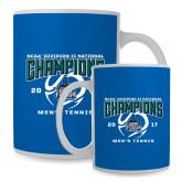 Full Color White Mug 15oz-NCAA Division II National Champions 2017 Mens Tennis